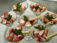 Strawberries Grand Marnier <br /> with Creme Anglaise