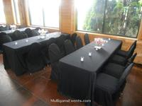 Reception - Black Linens