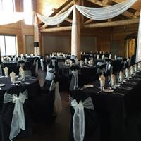 Black & Ivory Lodge Draping